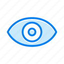 eye, see, view, vision icon