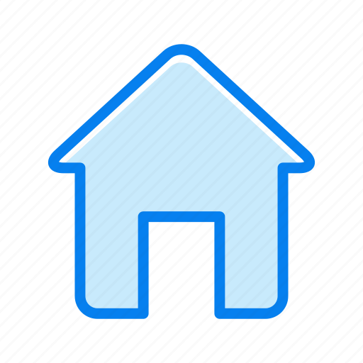 architecture, building, estate, house icon