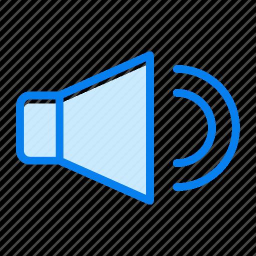 audio, speaker, volume icon