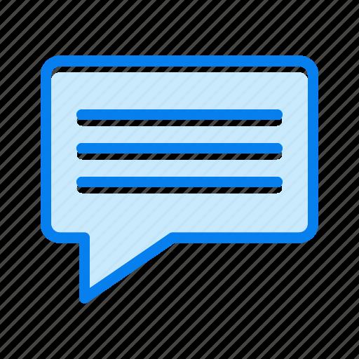 bouble, chat, communication, convesation icon