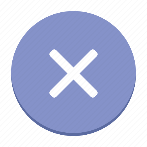 decline button, interface, reject, ui, user interface, ux icon
