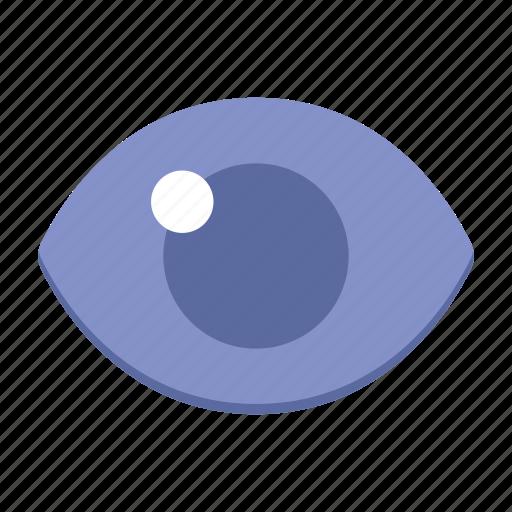 eye, interface, ui, user interface, ux, watch icon