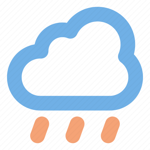Rainy, weather, cloud, user interface icon - Download on Iconfinder