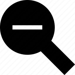 zoom out, zoomout icon