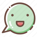 bubble, chat, chatting, communication, interface, message, user icon