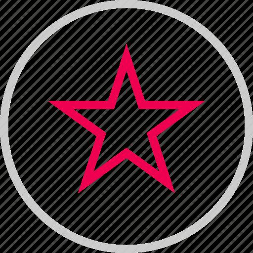 bookmark, burst, menu, special, star icon