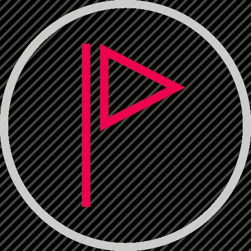 bookmark, favorite, flag, flagged, menu icon