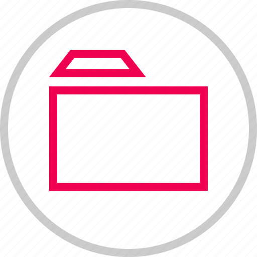 archive, arrow, folder, left, menu icon