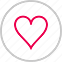 bookmark, favorite, heart, love, menu icon