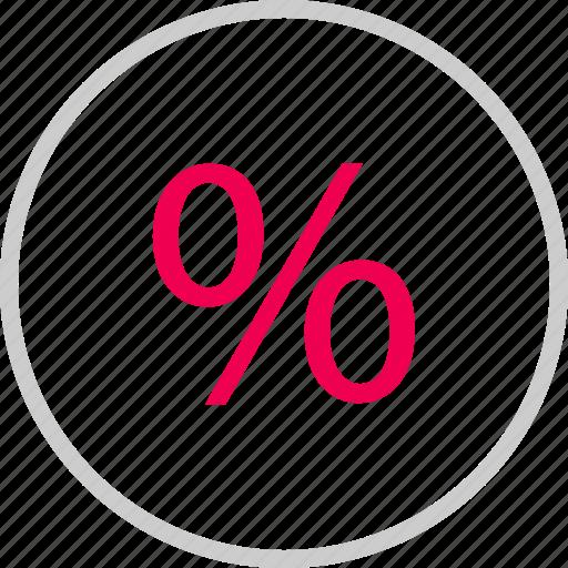 interest, menu, percent, percentage, rate, revenue icon