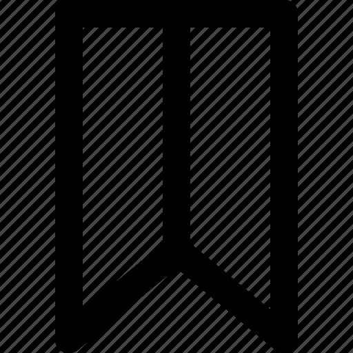 basic icon, bookmark, favorite, marker, ribbon, user interface, wishlist icon