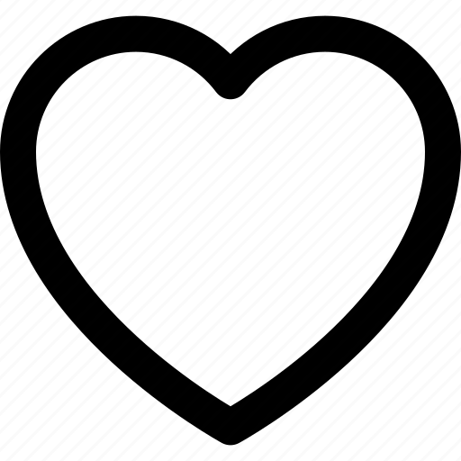 basic icon, favorite, heart, like, love, ui, user interface icon