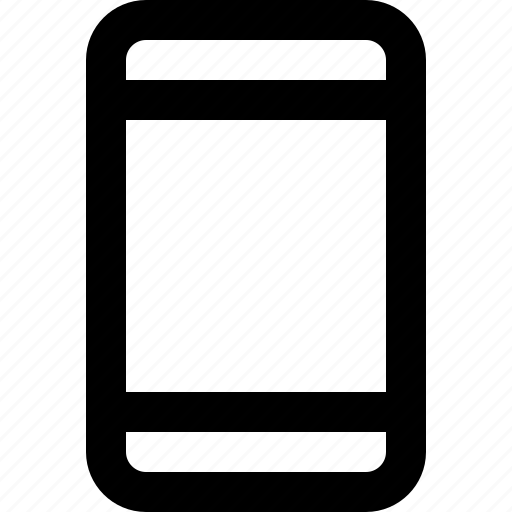 basic icon, gadget, phone, smartphone, technology, ui, user interface icon