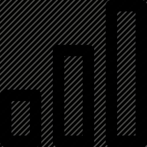 bars, basic icon, connectivity, range, statistics, stats, user interface icon