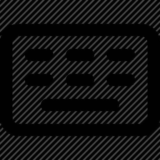 basic icon, computer, hardware, key, keyboard, text, write icon