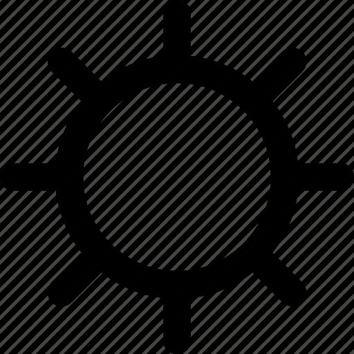 basic icon, bright, brightness, light, sun, ui, user interface icon