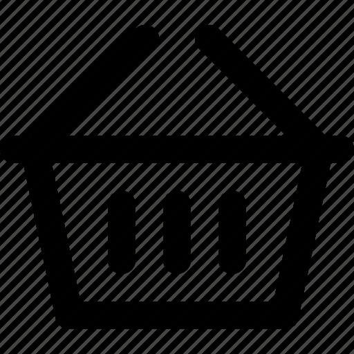 basic icon, basket, ecommerce, shop, shopping, ui, user interface icon