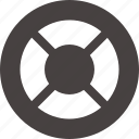 buoy, emergency, life, rescue, saver icon icon