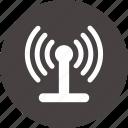 radio, signal, tech, tower, tower radio icon icon