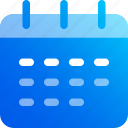 calendar, date, day, month, planner, timetable, week icon