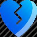 disapproval, dislike, heart, unlike icon