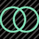 art, blocks, diagram, dots, edit, elipses, extend, green, menu, shapes
