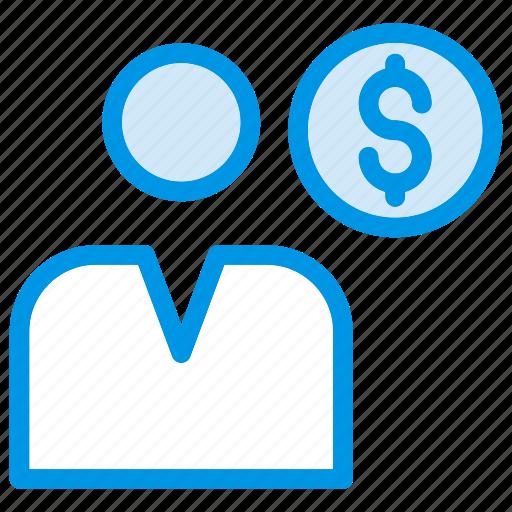 account, employee, profile, user icon