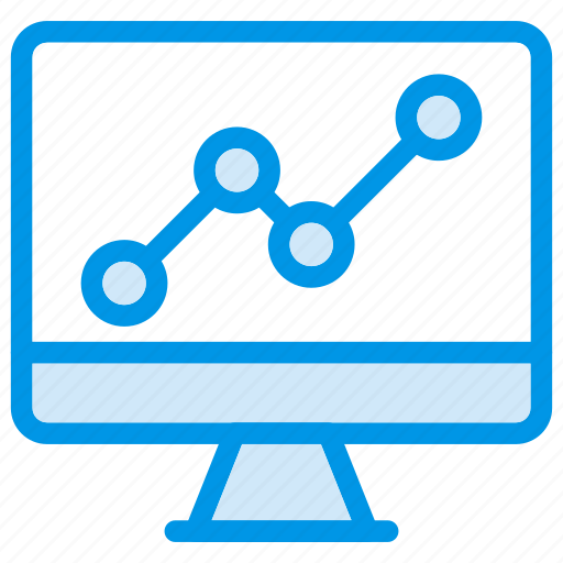 analysis, analytic, display, monitor icon