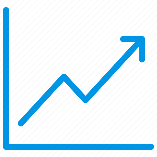 analytic, graph, growth, improve icon