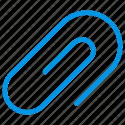 attachment, clip, pin, staple icon