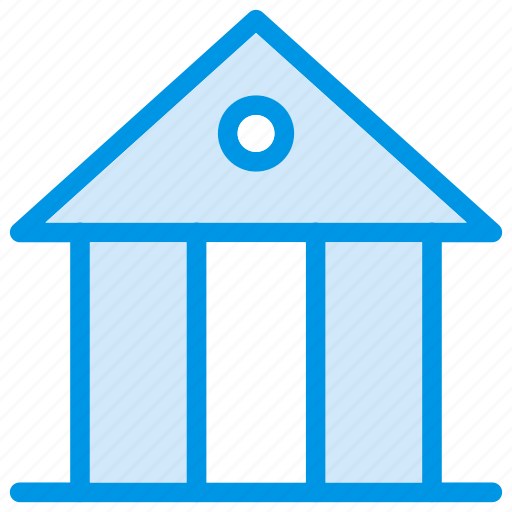 bank, building, finance, saving icon