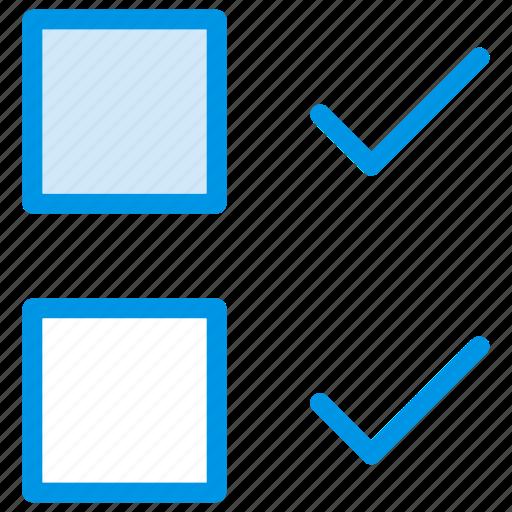box, check, correct, tick icon