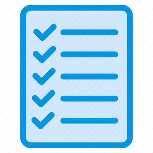 Checklist, document, file, sheet icon - Download on Iconfinder