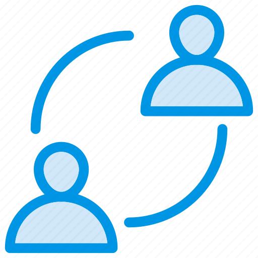 communication, connect, employees, user icon