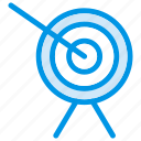 dartboard, goal, success, target icon