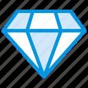diamond, finance, jewelry, stone icon