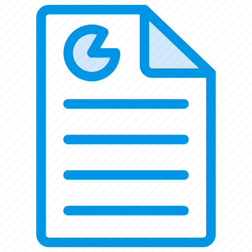document, file, page, report icon
