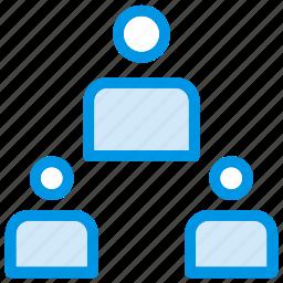 group, network, organization, team icon