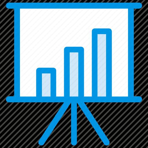 Board, chart, presentation, statistics icon - Download on Iconfinder