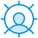 avatar, client, profile, user icon