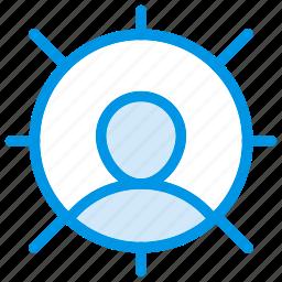 avatar, client, profile, user icon