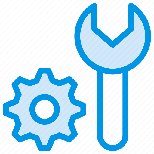 maintenance, repair, setting, wrench icon