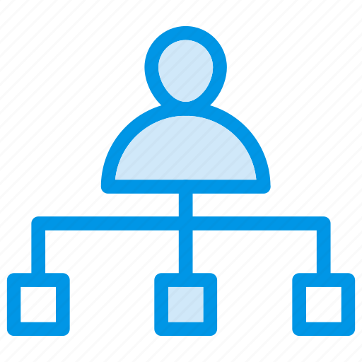 communication, connect, network, user icon