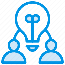 creativity, employees, idea, user icon