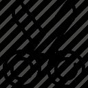 cut, interface, scissors, ui, user icon