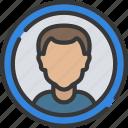 avatar, interface, male, ui, user