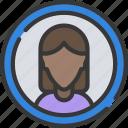 avatar, female, interface, ui, user