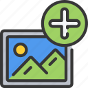 add, image, interface, plus, ui, user icon