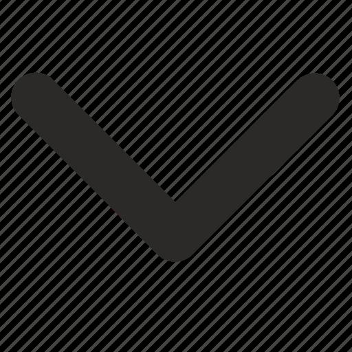 bottom, interface icon