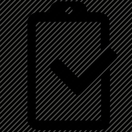 accept, check, complete, list, ok, plan icon